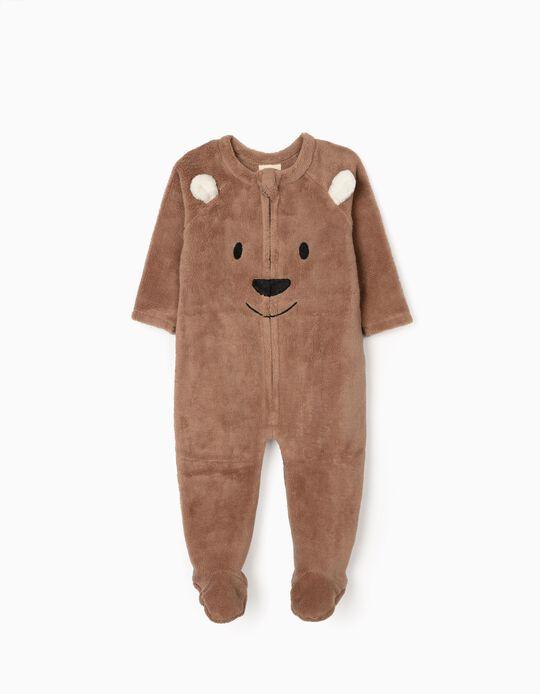 Combinaison Bébé Garçon 'Teddy Bear', Marron
