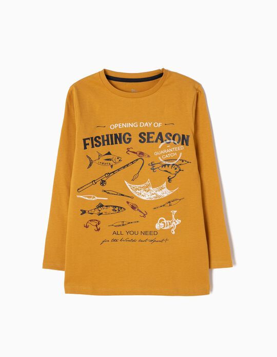 Camiseta de Manga Larga Fishing Season
