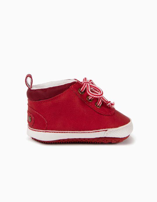 Botas Pre-Walker Vermelhas