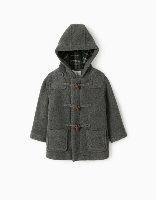 Duffle-coat bébé garçon 'B&S', gris