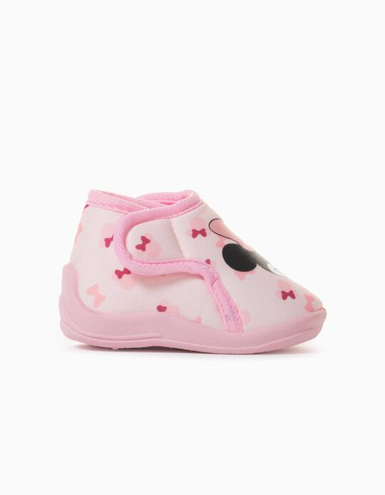 Zapatillas de Casa para Bebé Niña 'Minnie', Rosa