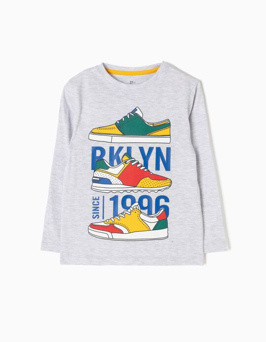 T-shirt Manga Comprida Sneakers