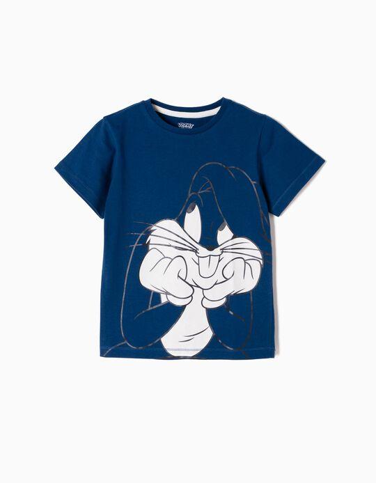 Camiseta Bugs Bunny Azul