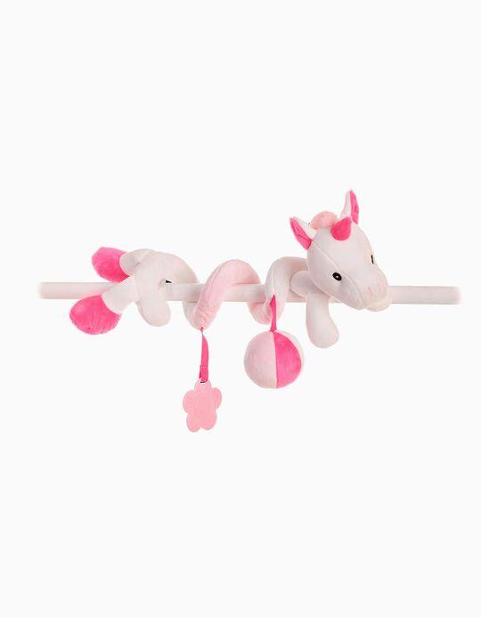 Spiral 30cm Unicorn Rosi, by Little Kids