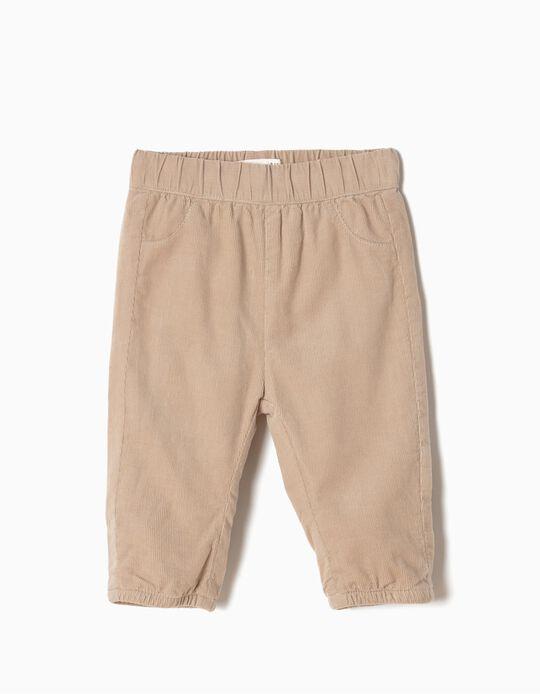 Pantalón de Pana Beige