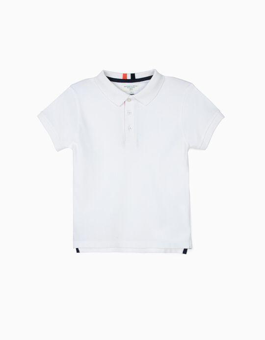 Polo para Niño 'B&S', Blanco