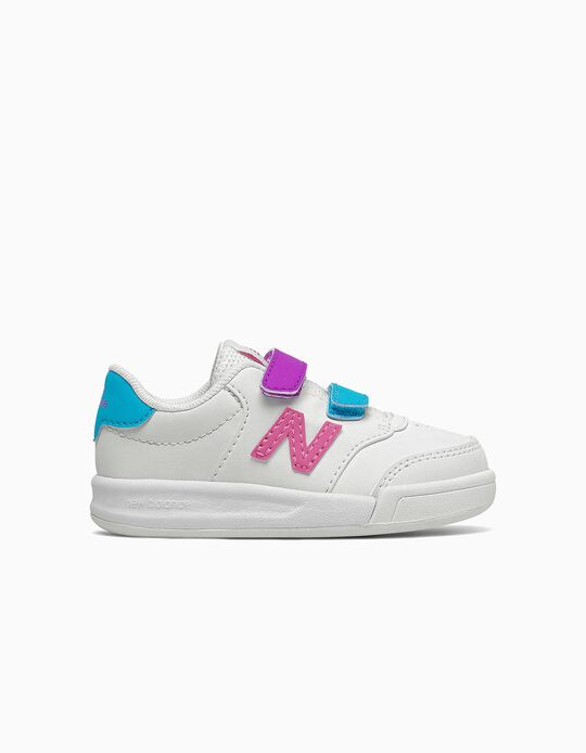 Trainers for Baby Girls 'New Balance CT60', White/Multicoloured