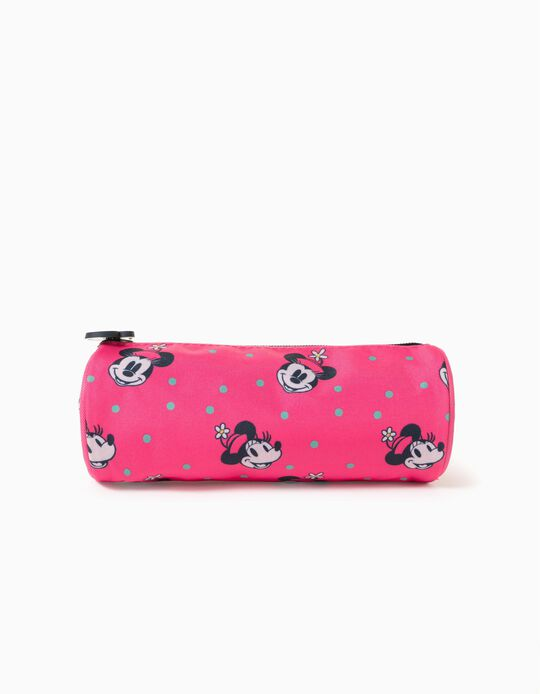 Pencil Case for Girls 'Pink Hat Minnie', Pink