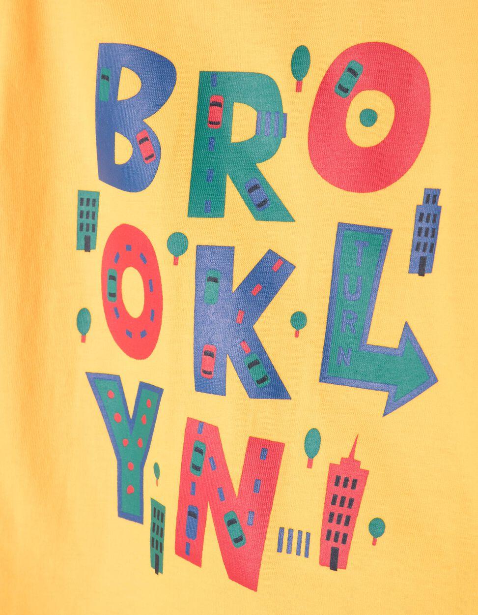 T-shirt New York Symbols Branca