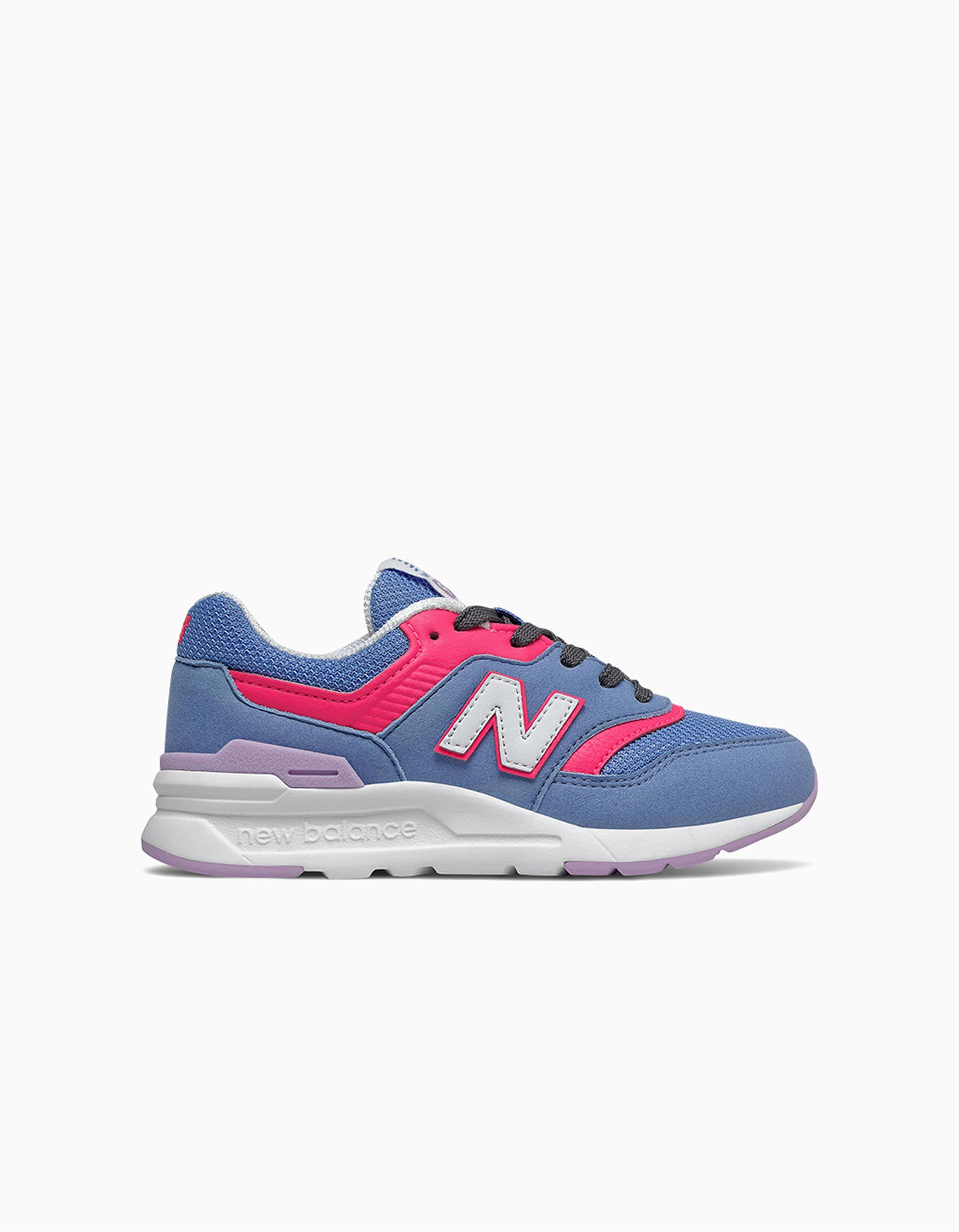Baskets fille 'New Balance 997H', bleu/rose