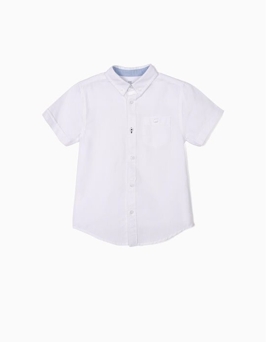 Camisa para Niño, Blanca
