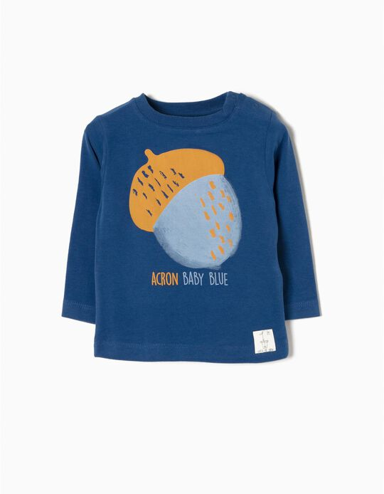 Camiseta de Manga Larga Blue