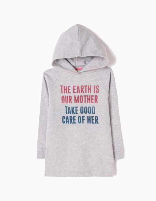 Vestido de Felpa con Capucha Mother Earth