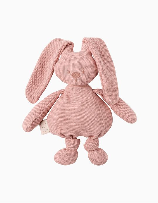 Lapidou Pink Knitted Soft Toy 36 cm by Nattou