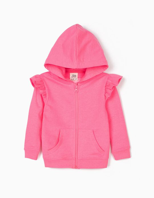Hooded Jacket for Baby Girls 'Minnie Mouse Planet', Pink