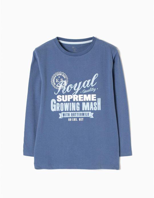 T-shirt Manga Comprida Royal