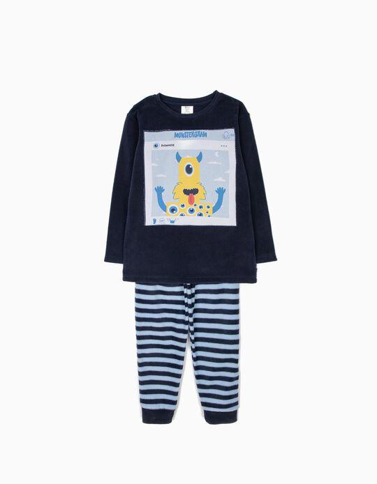 Pijama Polar Monstergram