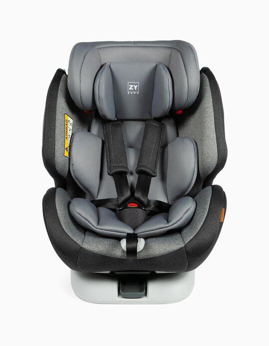 Siège auto Gr 0/1/2/3 Premium Isofix One Zy Safe Melange Grey