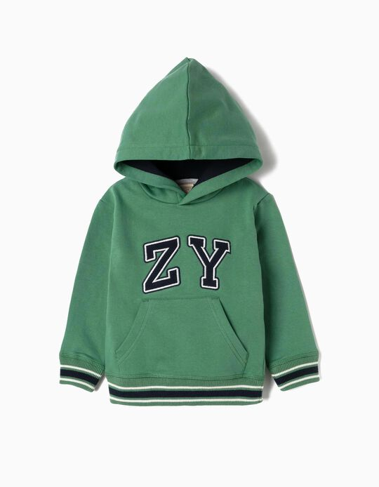 Hoodie for Baby Boys 'ZY', Green