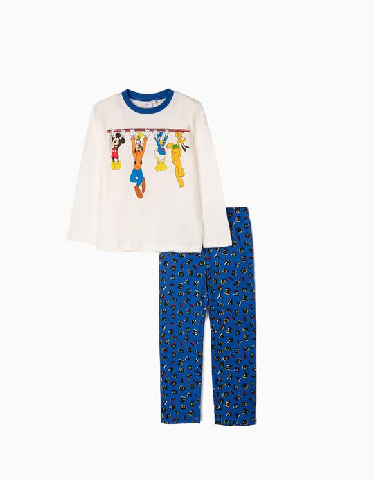 Pijama para Niño 'Mickey & Friends', Blanco/Azul