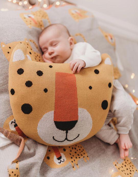 Decorative Cushion Leopard Growin