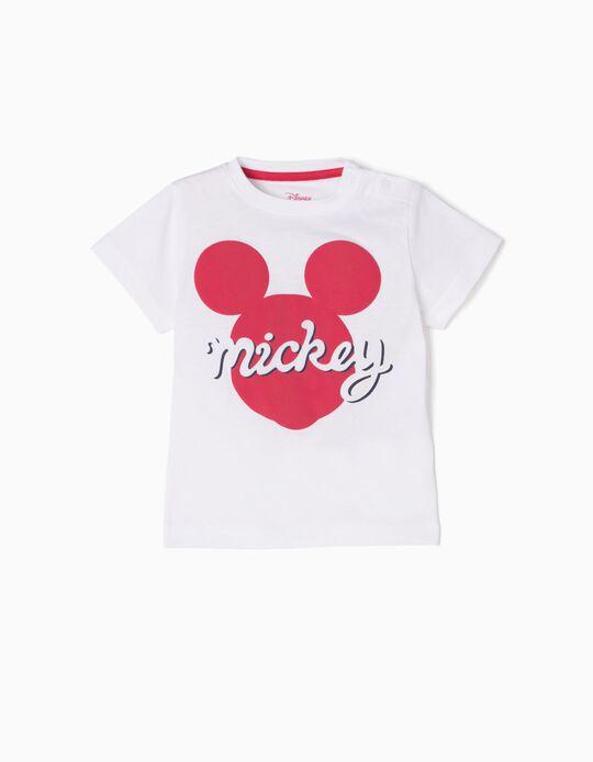 Camiseta Blanca Mickey