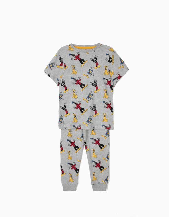 Pijama para Niño 'Mickey & Friends', Gris