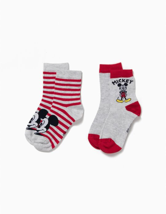 Pack de 2 Pares de Calcetines Mickey