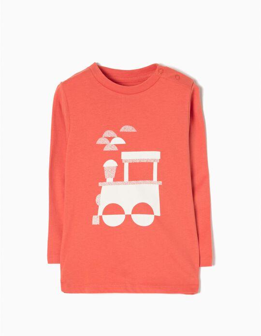 Camiseta de Manga Larga Train