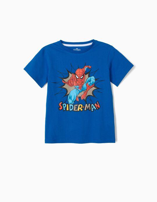 Camiseta para Niño 'Spider-Man', Azul
