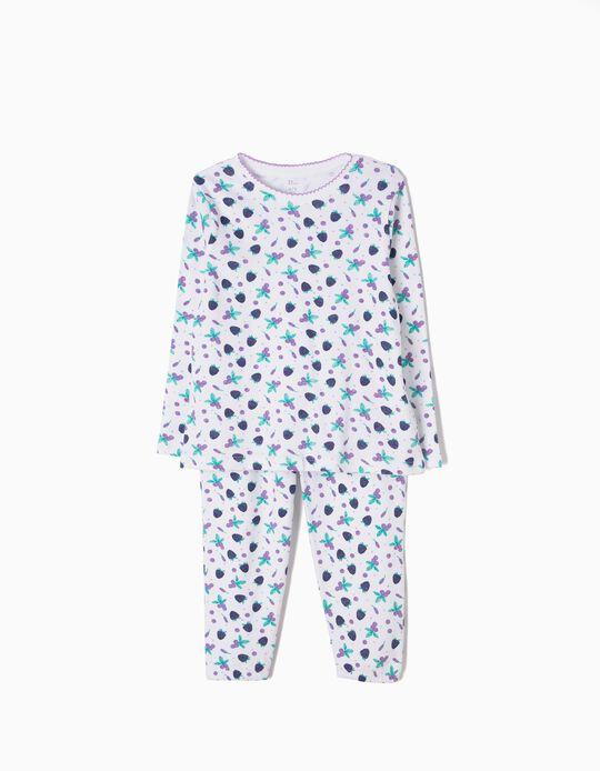 Pijama Manga Larga y Pantalón Berries