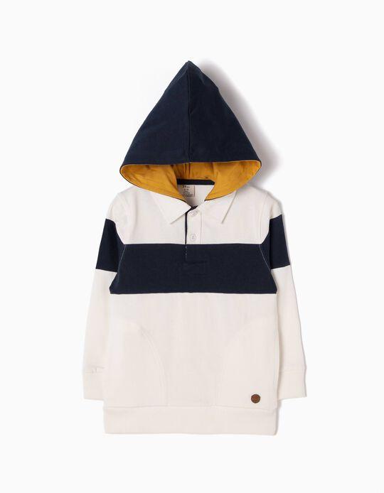 Sweatshirt Polo com Capuz ZY