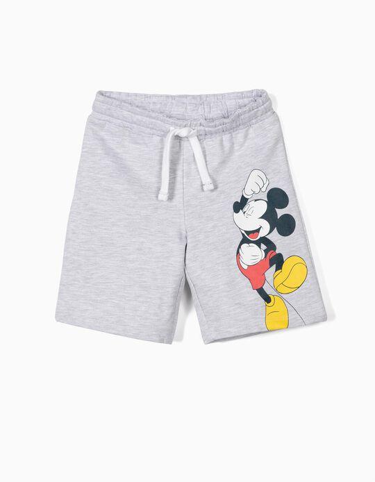 Calções de Treino para Menino 'Mickey', Cinza