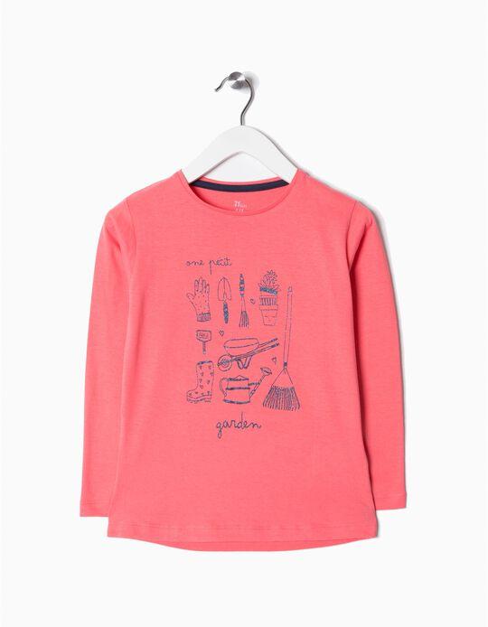 T-shirt de manga comprida garden
