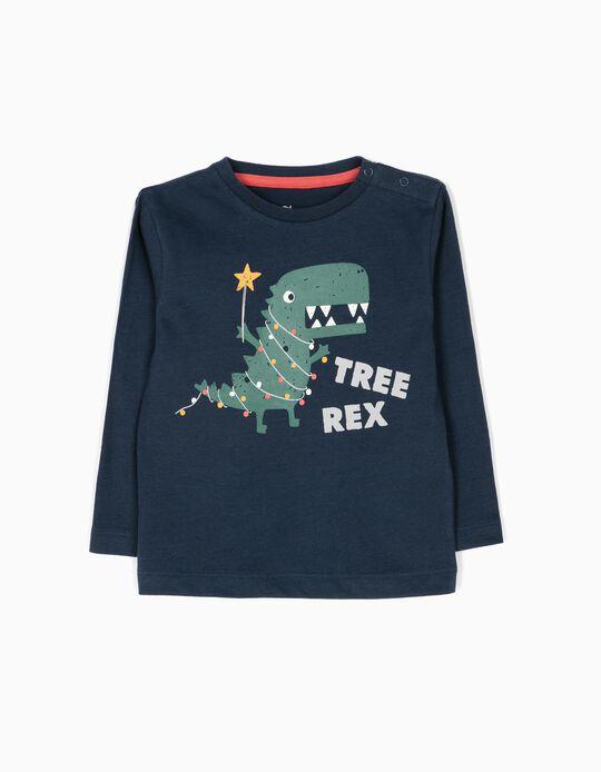 Camiseta de Manga Larga Tree Rex