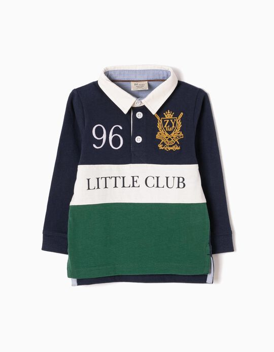 Polo de Manga Larga Little Club