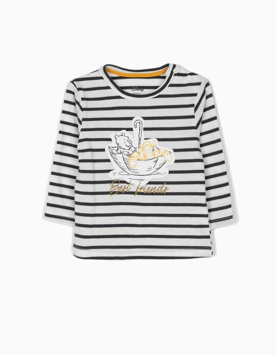 Camiseta de Manga Larga Winnie the Pooh Rayas