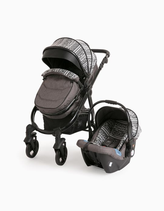Conjunto De Rua Duo Tribe 4 Zy Safe Black/Grey
