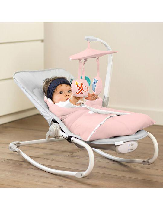 Baby Bouncer, Felio Stone Kinderkraft, Pink
