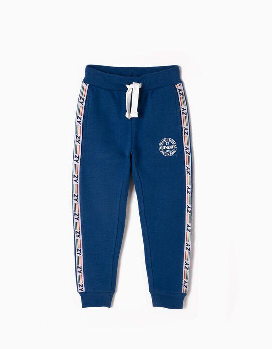 Pantalón de Chándal Azul ZY 96