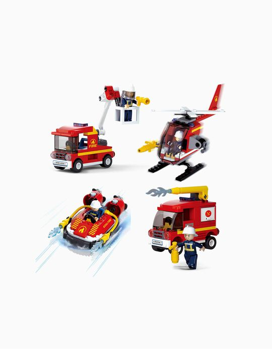 Fire Machine toy, by Sluban, Assorted