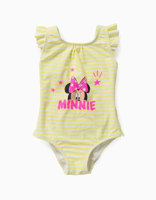 Bañador para Bebé Niña 'Minnie', Amarillo/Blanco