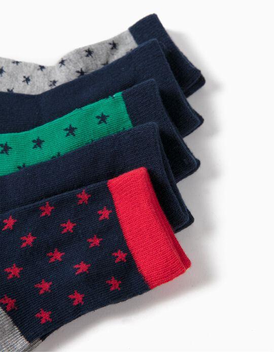 Pack 5 Pares de Calcetines Estrellas