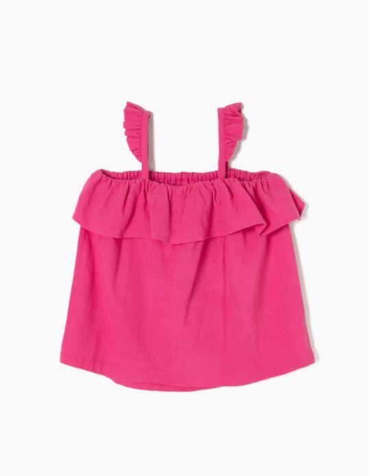 Blusa Rosa Fantasía