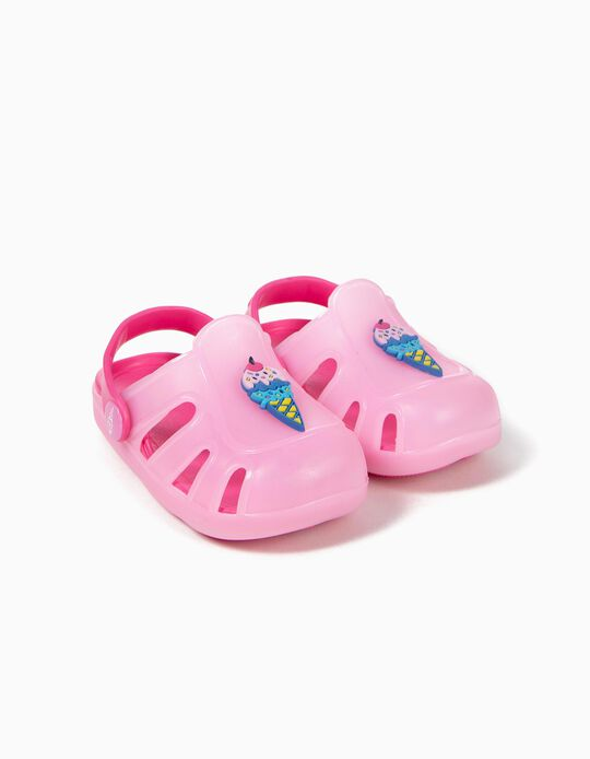 Sandalias para Bebé Niña 'Ice Cream', Rosa