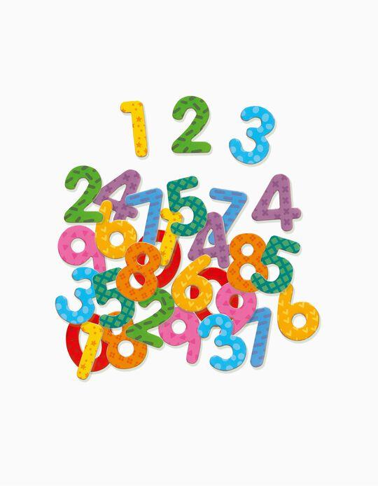 Números magnéticas Djeco 38 pcs.
