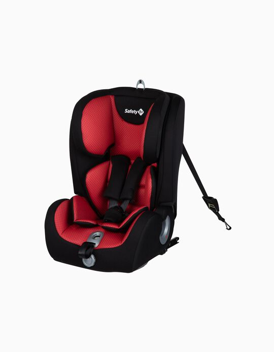 Silla para Coche Gr 1/2/3 Ever Fix Safety 1St Pixel Red
