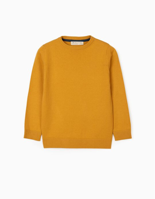 Jumper for Boys, Yellow