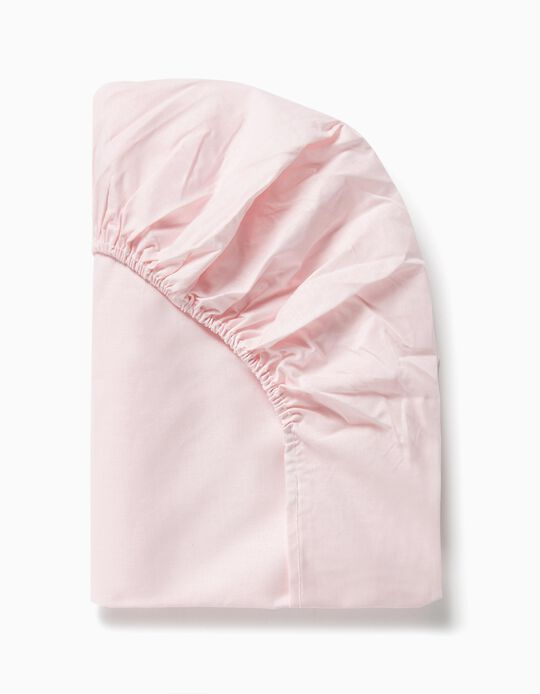 Adjustable Sheet 85x55cm Interbaby, Pink