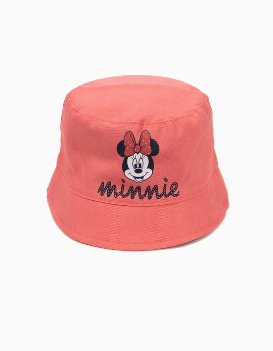 Chapéu para Bebé Menina 'Minnie', Rosa